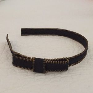 J. Crew Zipper Headband